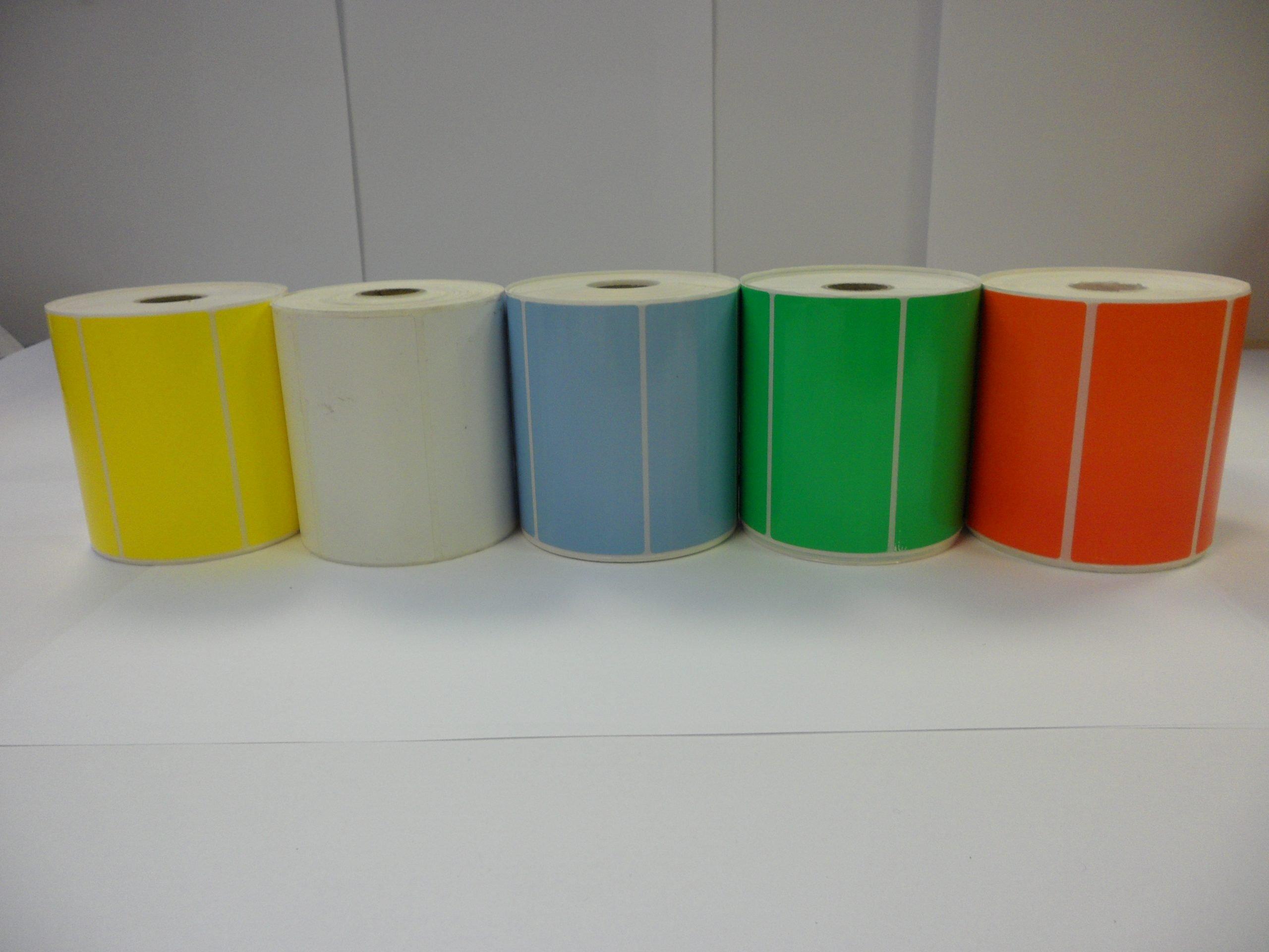 Desk Test N' Tag Printer labels & Ink Ribbon