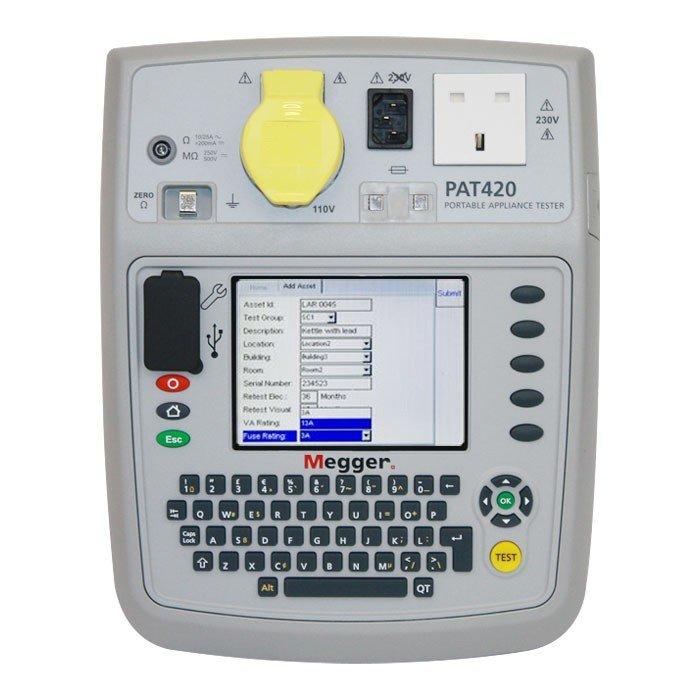 Megger PAT420 PAT Tester